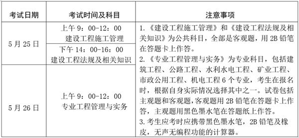 宁夏2020年二级建造师报名时间入口及报考条件
